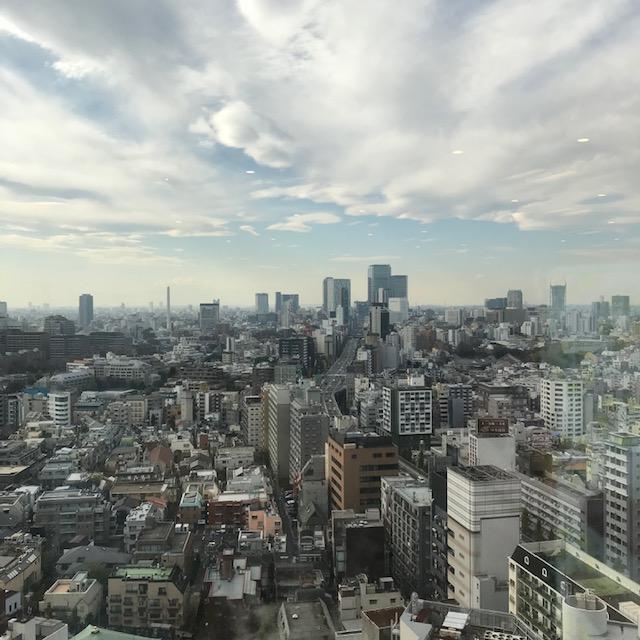 メルカリ東京オフィスから見た景色