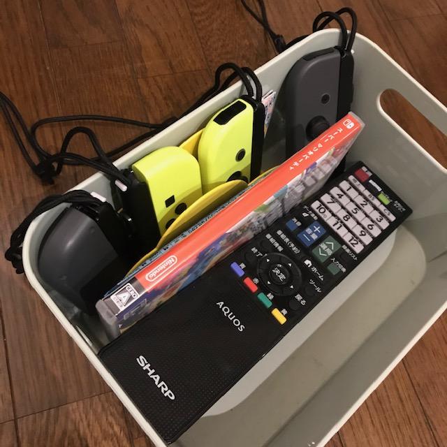 ジョイコン4つ収納方法ボックスを使用