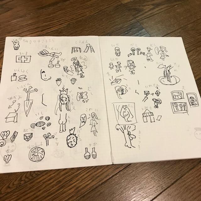 子ども同士オンラインでできる遊び絵しりとり2