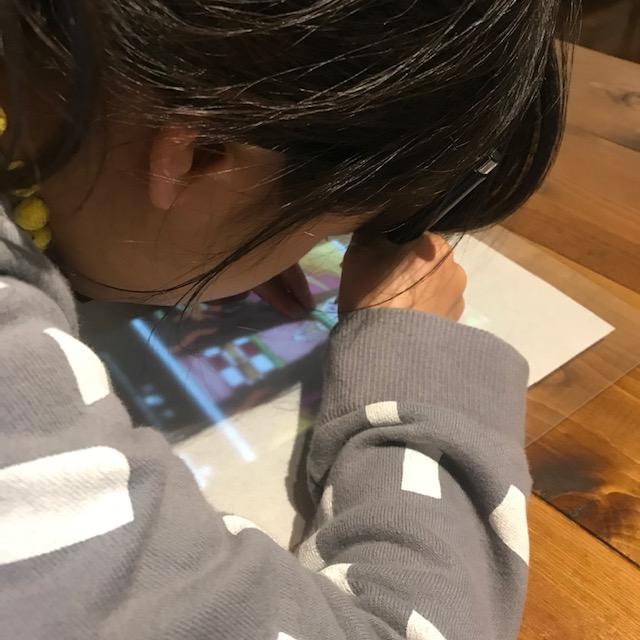 タブレットやスマホで写し絵遊びはできるのか