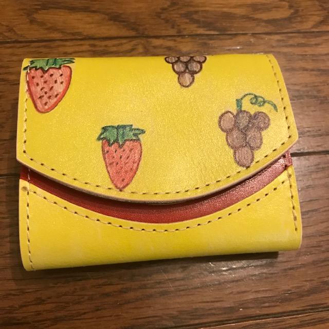 小さい財布小さいふ我が子のデザインが財布に
