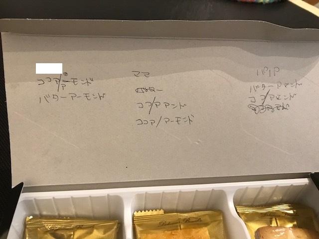 3種のアーモンドクッキーを公平に分ける