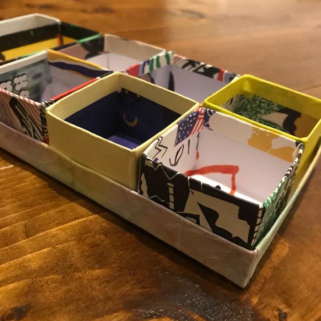 ぴったりサイズの箱が作れる喜び
