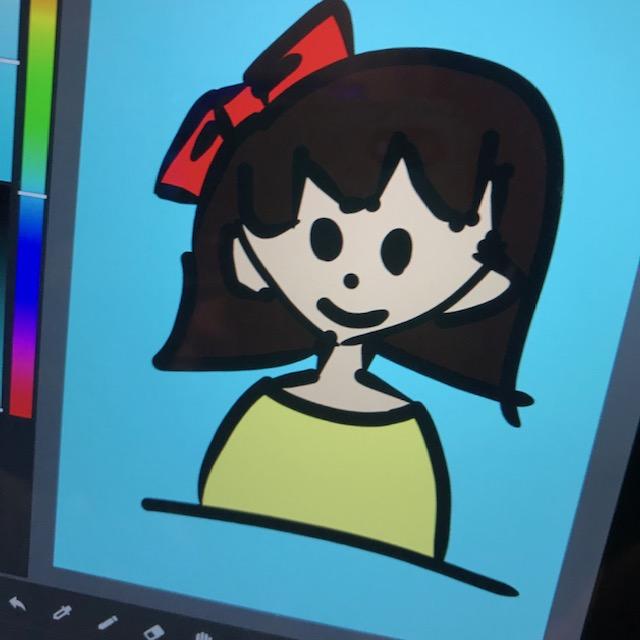 メディバンペイントで小学4年生が描いたイラスト3