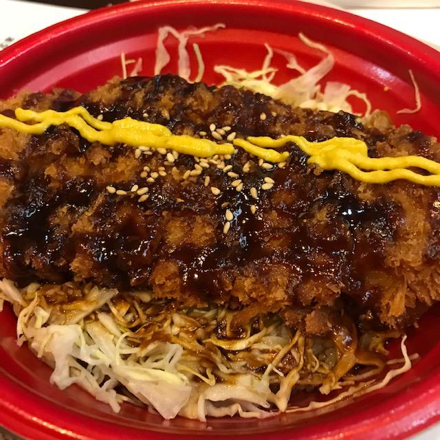 新宿さぼてん味噌かつ丼弁当2