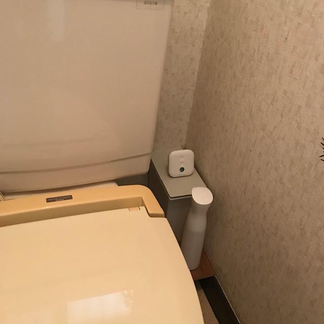 消臭力トイレ用デオックス置く場所どこ