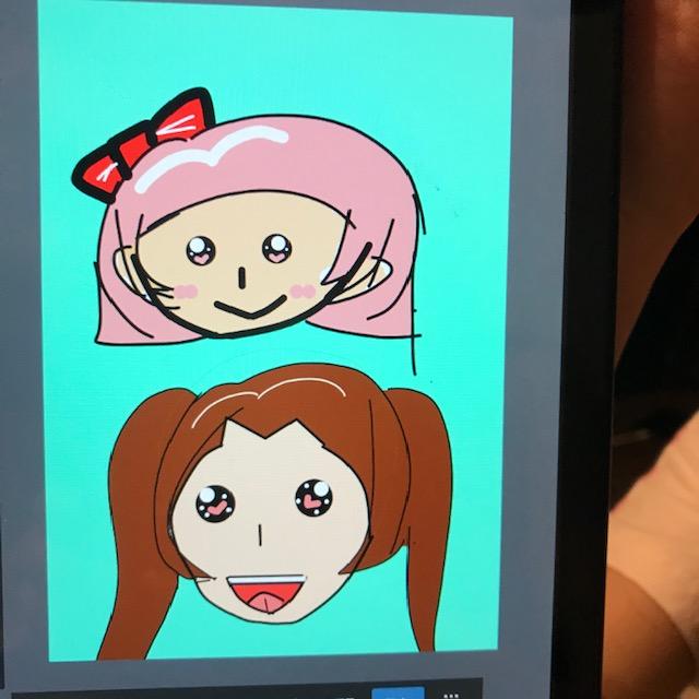 メディバンペイントで小学4年生が描いたイラスト2
