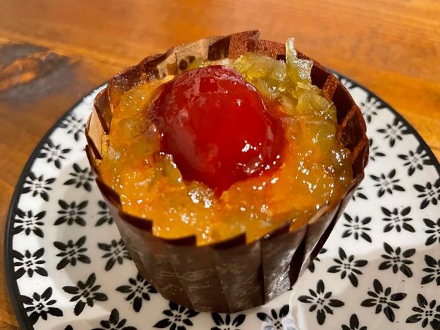 ホシフルーツフレンチカップケーキ青梅赤梅