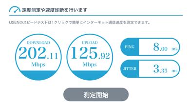 学校から支給されたiPadのインターネット回線速度2